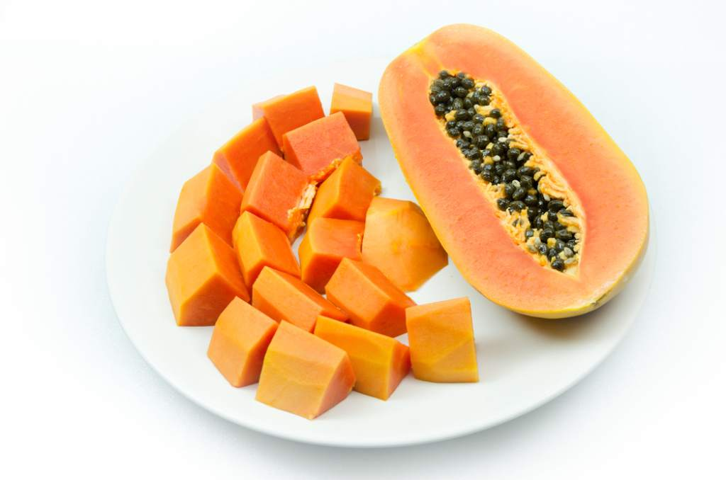 Papaya cooked