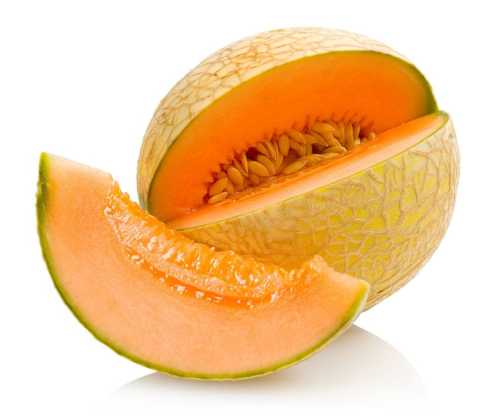 Orange cantaloupe
