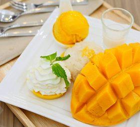 xslinfo-Mango sticky rice ice cream