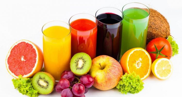 How to drink fruit and vegetables with the techniques of drinking.